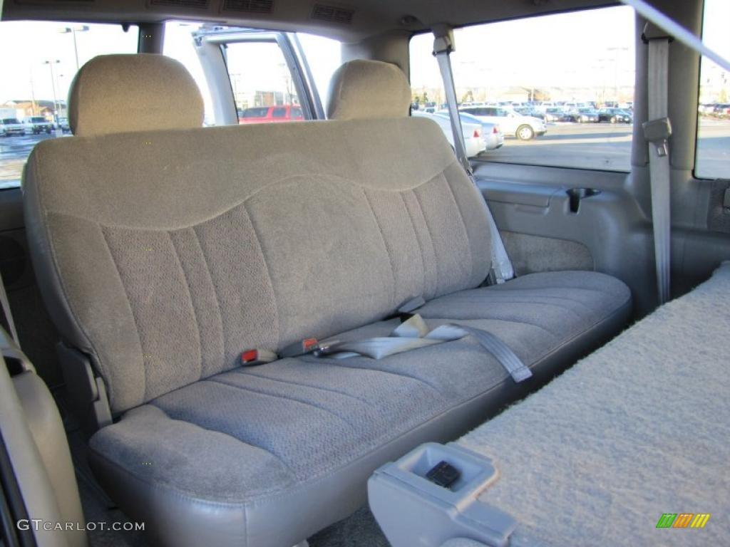 Medium Gray Interior 2000 Chevrolet Astro LS AWD Passenger Van Photo #41618081