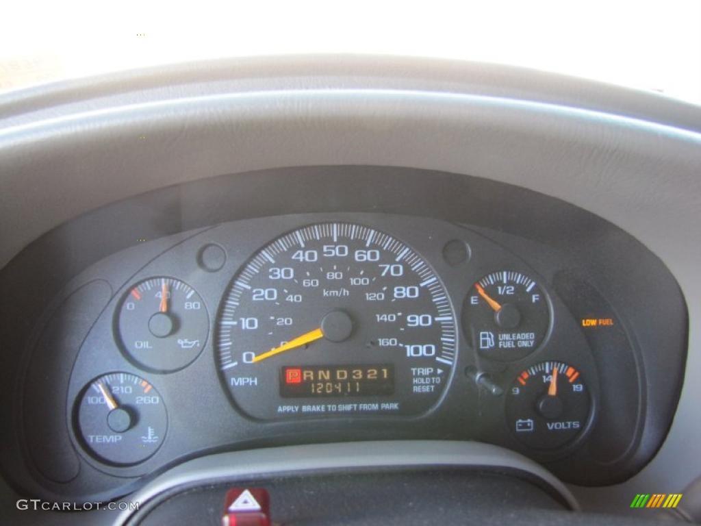 2000 Chevrolet Astro LS AWD Passenger Van Gauges Photos