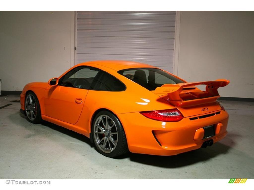 2010 orange porsche 911 gt3 41533846 photo 2 car color gal. Black Bedroom Furniture Sets. Home Design Ideas