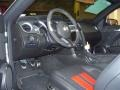 2011 Ford Mustang Charcoal Black/Red Interior Interior Photo