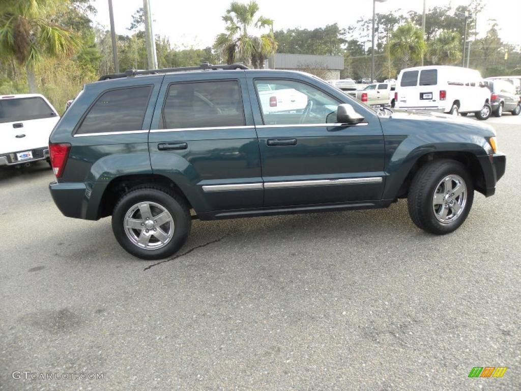 Deep Beryl Green Pearl 2005 Jeep Grand Cherokee Limited Exterior Photo 41624678