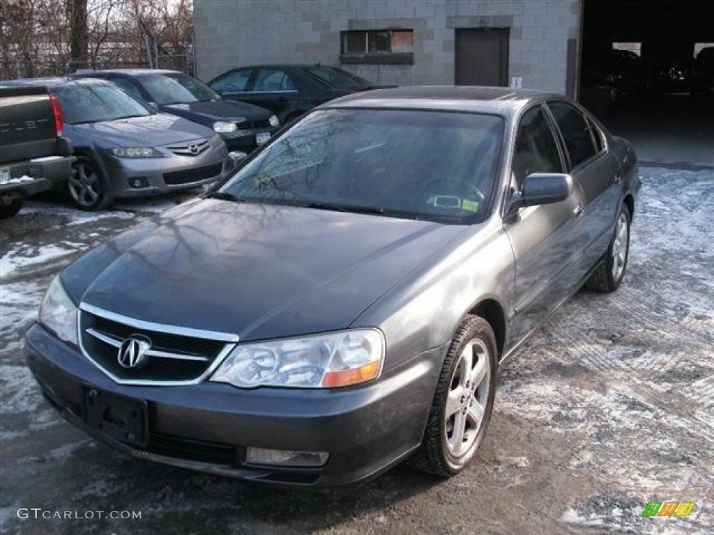 anthracite metallic 2003 acura tl 3 2 type s exterior. Black Bedroom Furniture Sets. Home Design Ideas