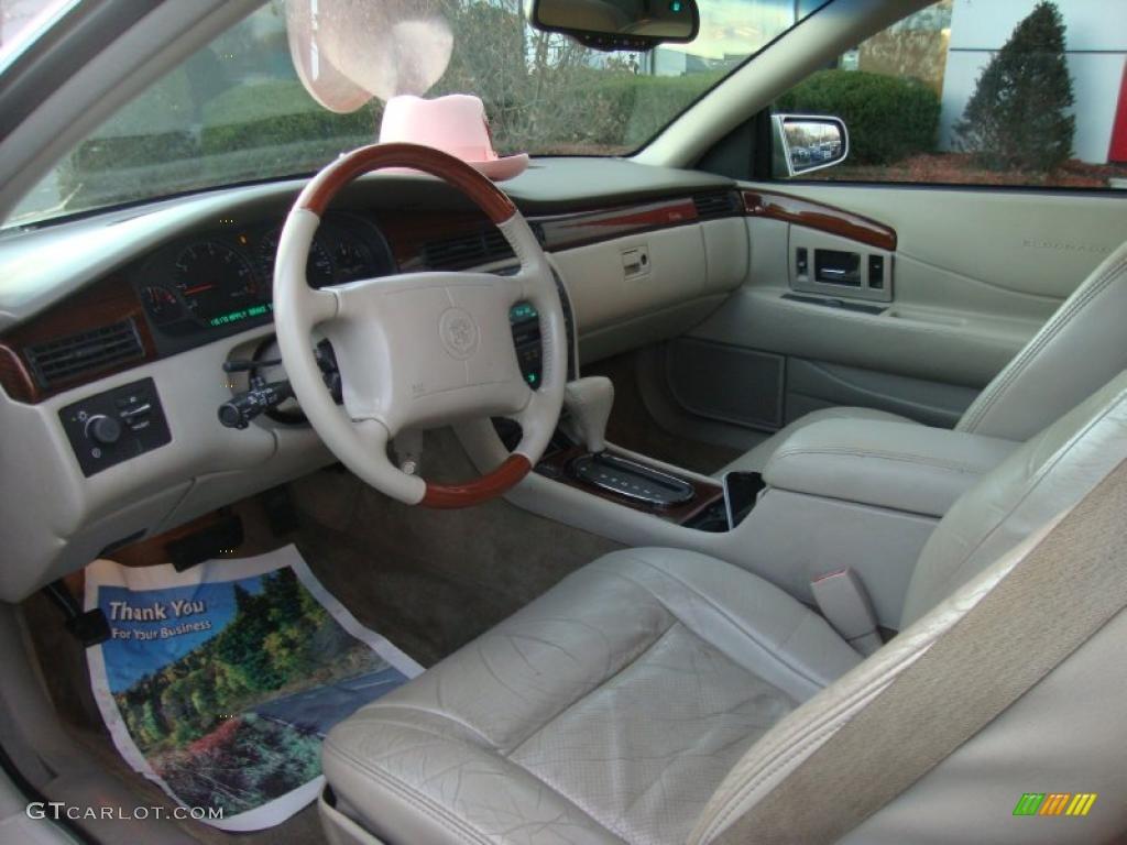 Oatmeal Interior 2000 Cadillac Eldorado Etc Photo 41628801