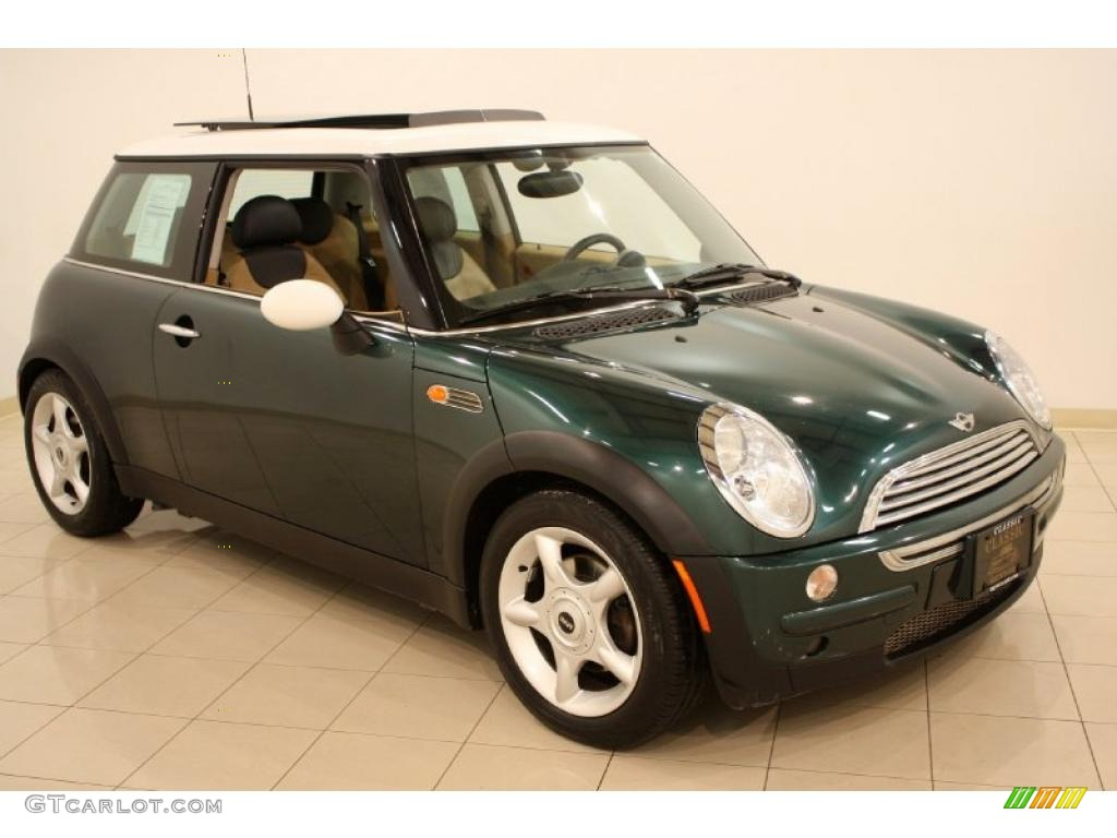 2002 british racing green metallic mini cooper hardtop 41534576 photo 8 car. Black Bedroom Furniture Sets. Home Design Ideas