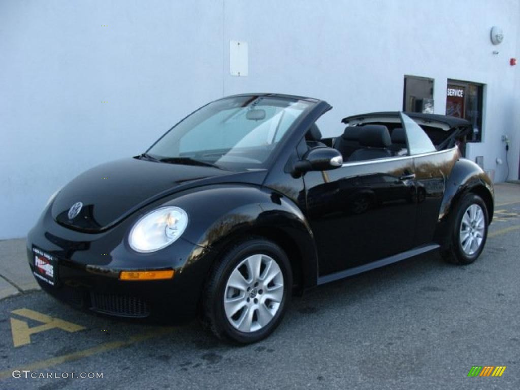 2008 black volkswagen new beetle s convertible 41534257 car color galleries. Black Bedroom Furniture Sets. Home Design Ideas
