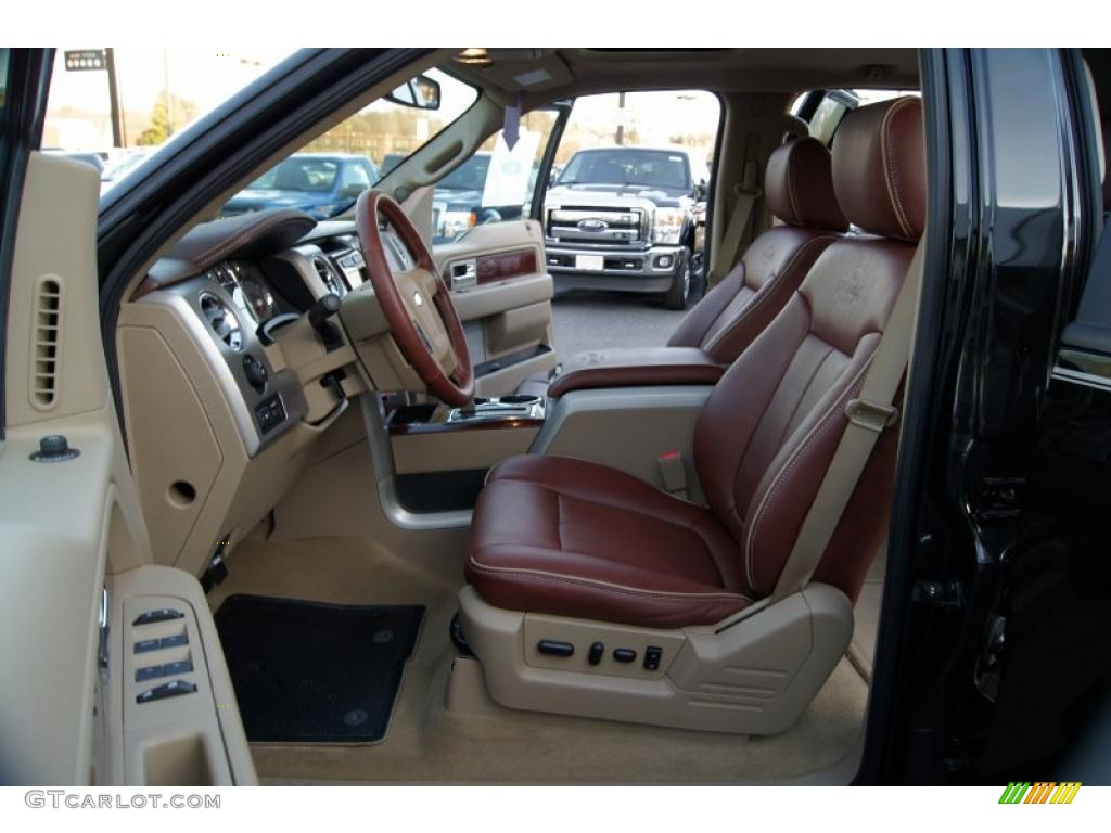 2010 Ford F150 King Ranch Supercrew 4x4 Interior Photo