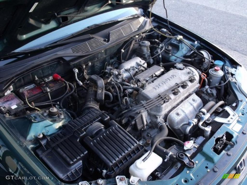 2000 Honda Civic Ex Coupe 1 6 Liter Sohc 16 Valve 4