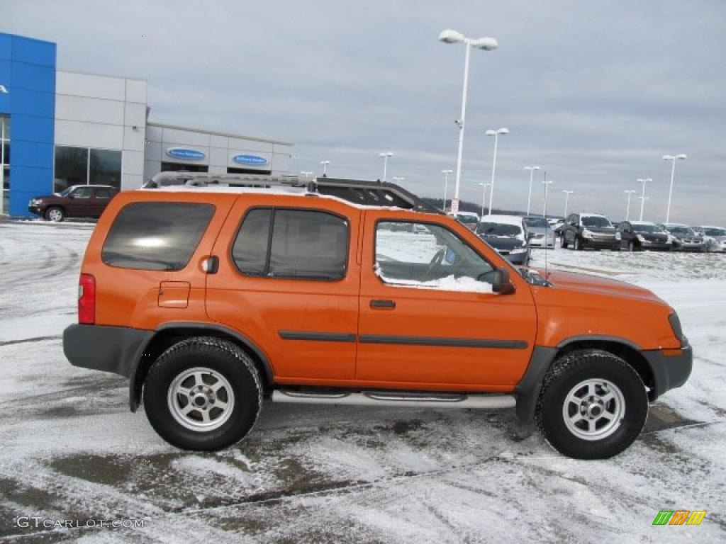 Atomic Orange 2003 Nissan Xterra Xe V6 4x4 Exterior Photo