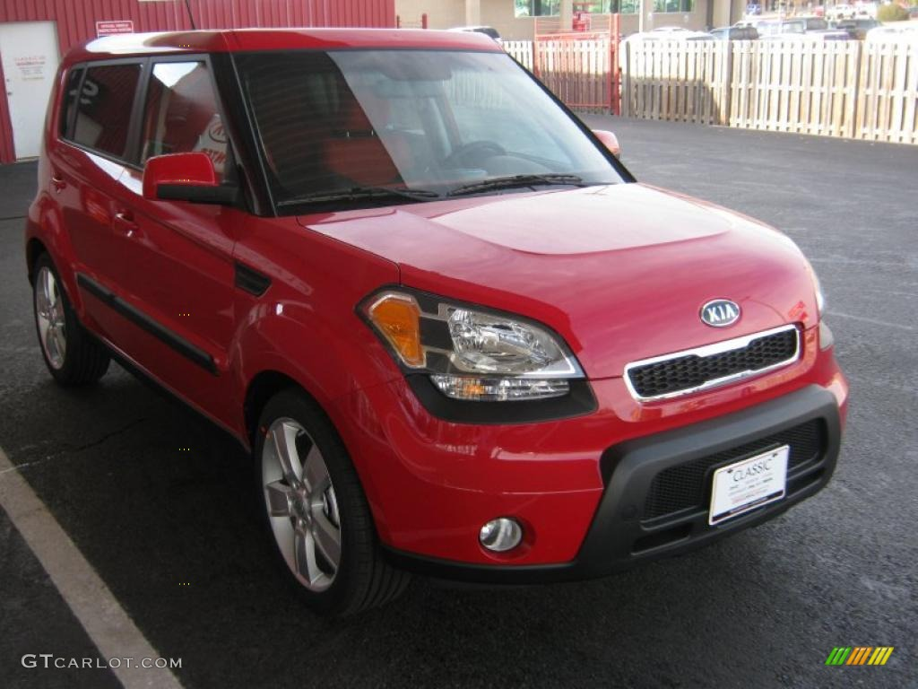 Molten red 2011 kia soul sport exterior photo 41641271 2012 kia soul exterior colors