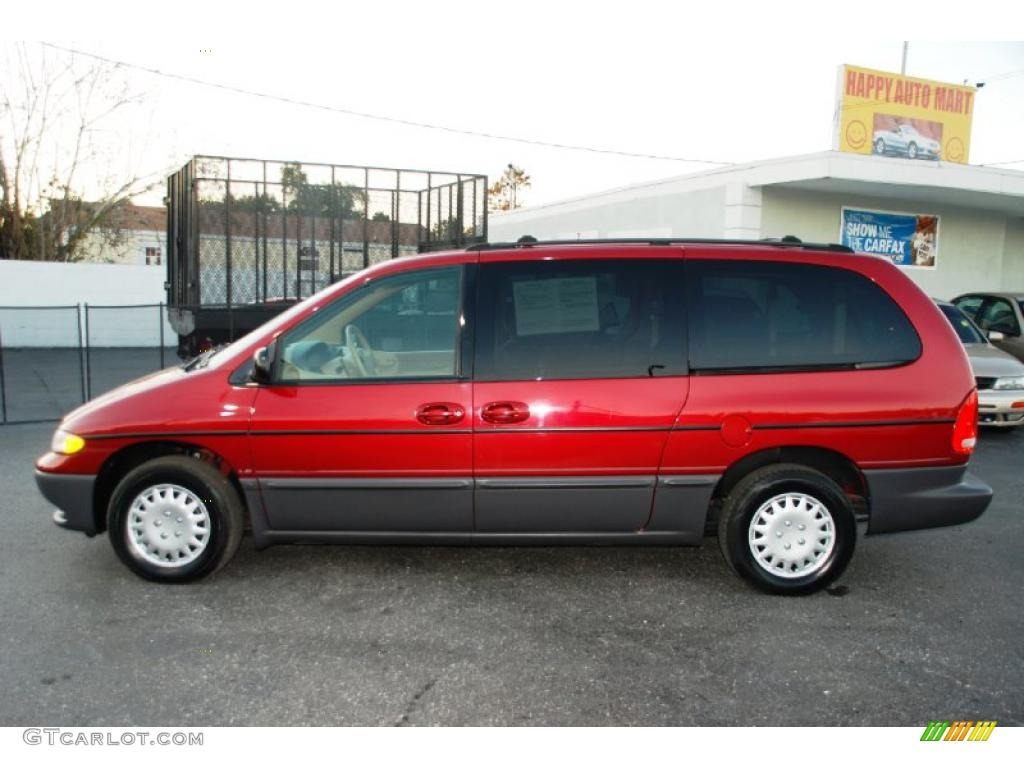 1996 candy apple red pearl dodge grand caravan es. Black Bedroom Furniture Sets. Home Design Ideas