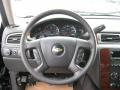 Ebony Steering Wheel Photo for 2011 Chevrolet Silverado 1500 #41646671