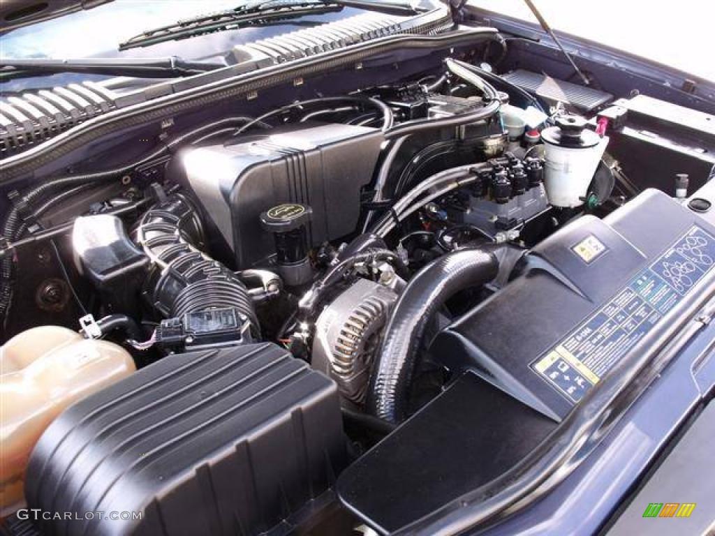 2002 ford explorer xlt 4 0 liter sohc 12 valve v6 engine photo 41647127. Black Bedroom Furniture Sets. Home Design Ideas