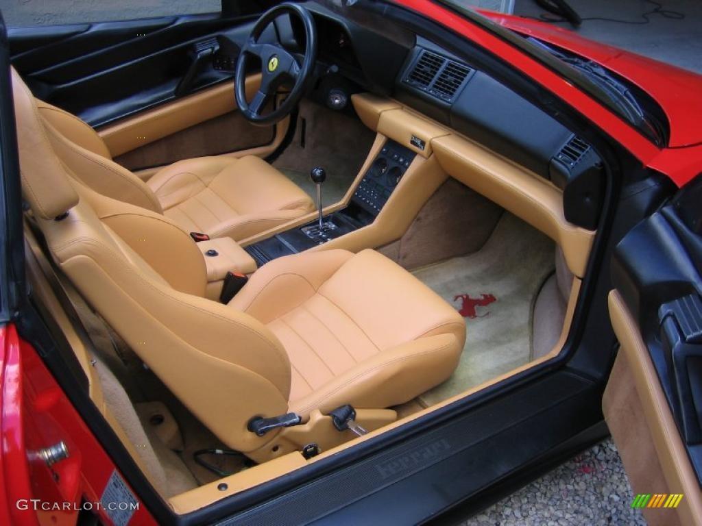 tan interior 1990 ferrari 348 ts photo 41652539. Black Bedroom Furniture Sets. Home Design Ideas
