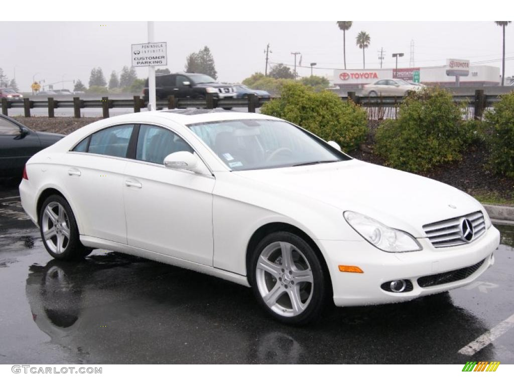 2007 arctic white mercedes benz cls 550 41631391 for 2007 mercedes benz cls