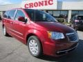 Deep Cherry Red Crystal Pearl - Town & Country Touring - L Photo No. 1