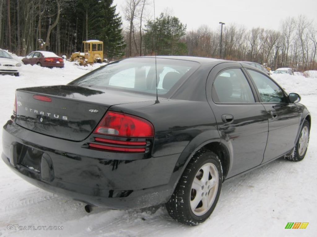 Brilliant Black 2006 Dodge Stratus SXT Sedan Exterior Photo #41666316 ...