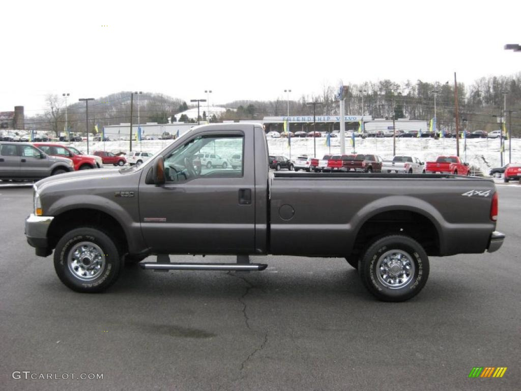 2004 Dark Shadow Grey Metallic Ford F250 Super Duty Xlt