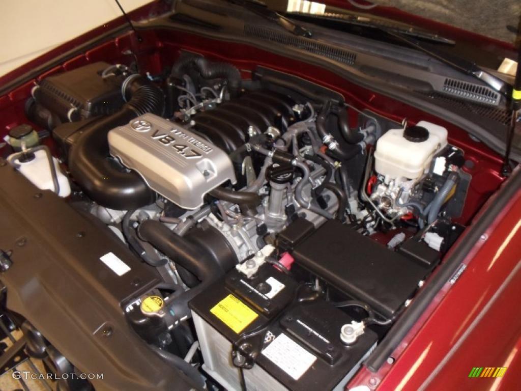 2007 toyota 4runner limited 4 7 liter dohc 32 valve vvt i v8 engine photo 41670516. Black Bedroom Furniture Sets. Home Design Ideas