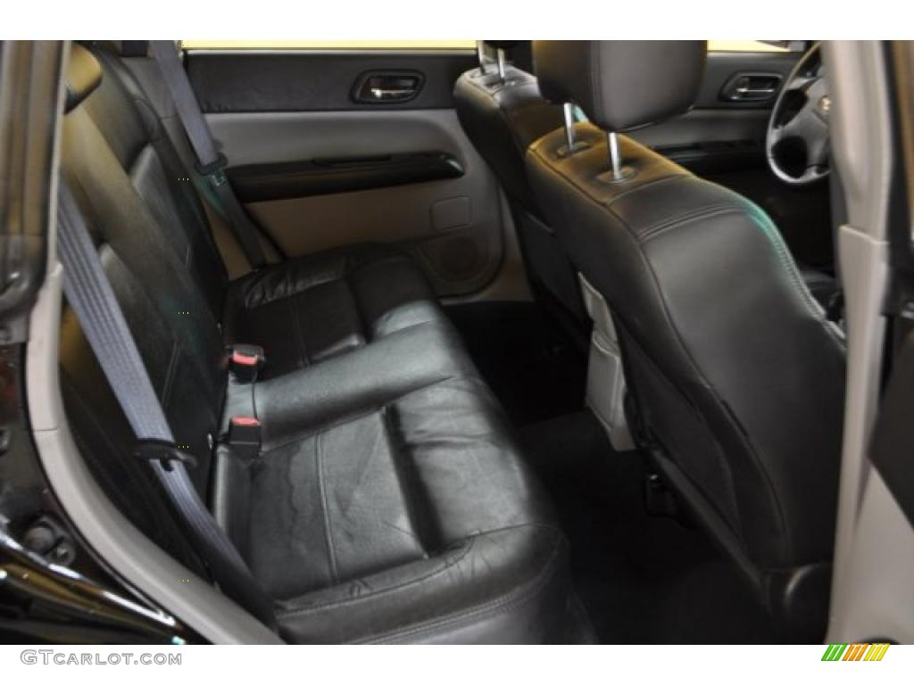 Black Interior 2004 Subaru Forester 2 5 Xt Photo 41678917