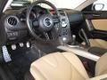 Dune Beige 2009 Mazda RX-8 Interiors