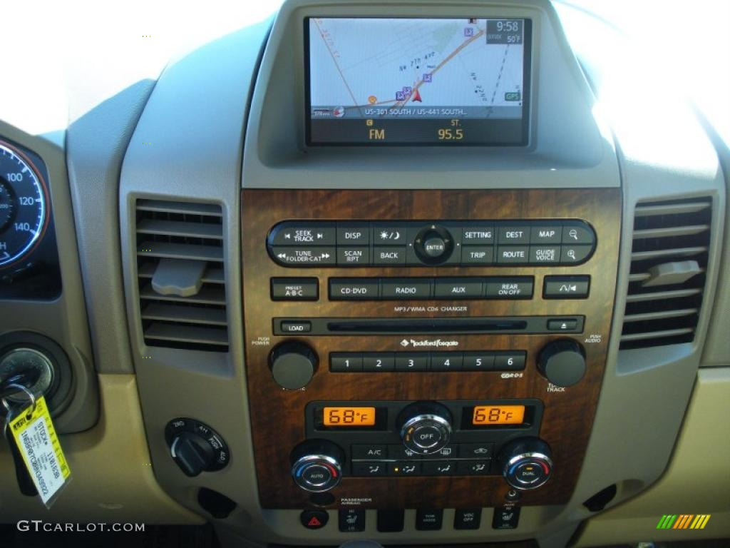 2008 Nissan Titan LE Crew Cab 4x4 Navigation Photo ...