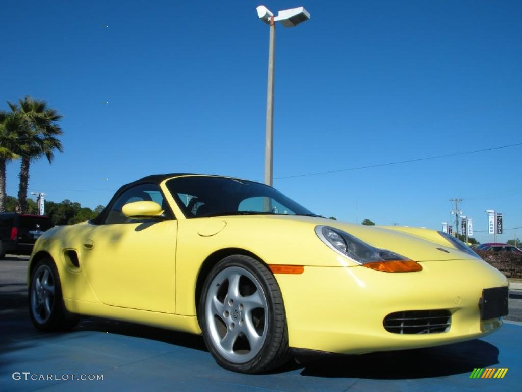 pastel yellow 1999 porsche boxster standard boxster model. Black Bedroom Furniture Sets. Home Design Ideas