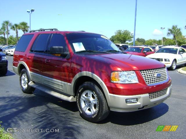 2005 Redfire Metallic Ford Expedition Eddie Bauer 392667 Car Color Galleries