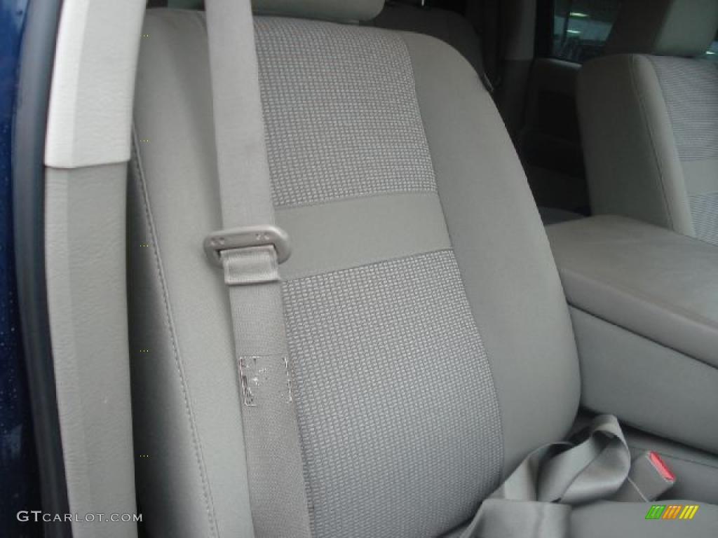 2008 Ram 1500 Big Horn Edition Quad Cab 4x4 - Patriot Blue Pearl / Medium Slate Gray photo #16