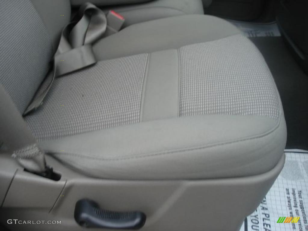 2008 Ram 1500 Big Horn Edition Quad Cab 4x4 - Patriot Blue Pearl / Medium Slate Gray photo #17