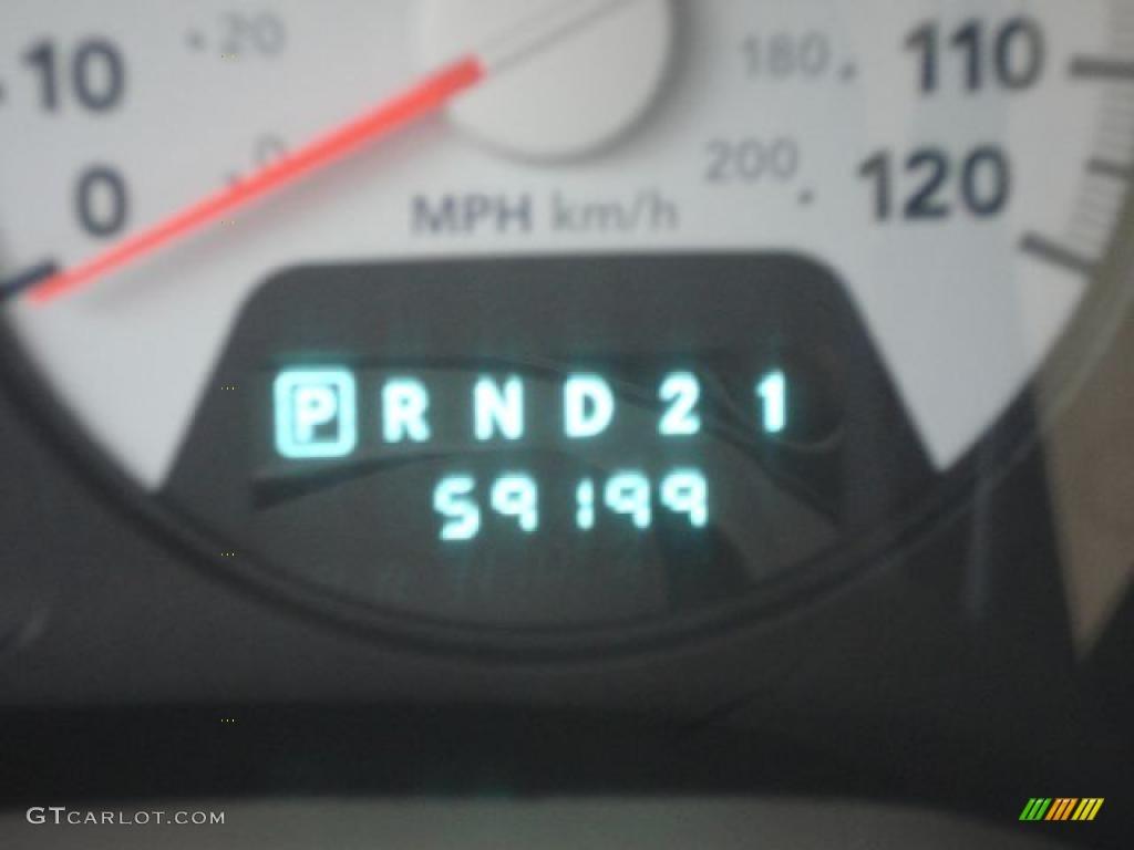 2008 Ram 1500 Big Horn Edition Quad Cab 4x4 - Patriot Blue Pearl / Medium Slate Gray photo #38