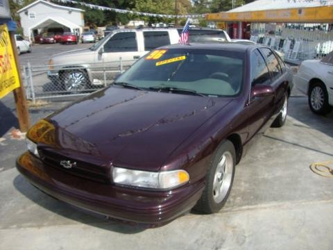 1996 chevrolet impala ss data info and specs. Black Bedroom Furniture Sets. Home Design Ideas