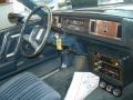 1986 Cutlass Supreme Coupe Dark Blue Interior