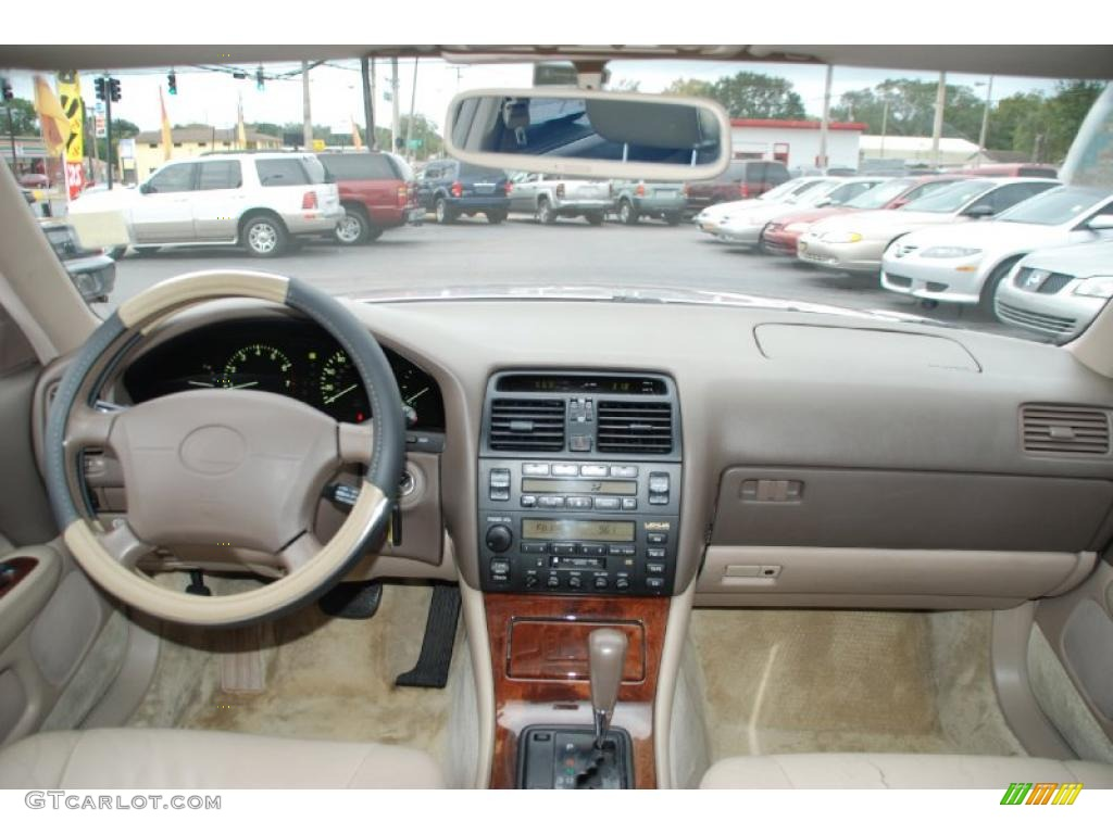 1997 Lexus Ls 400 Beige Dashboard Photo 41712662