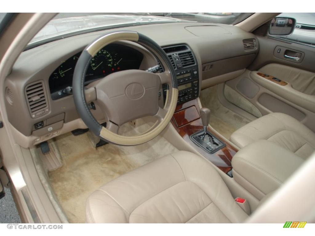 Beige Interior 1997 Lexus Ls 400 Photo 41712738