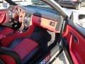 Salsa Red 1998 Mercedes-Benz SLK Interiors