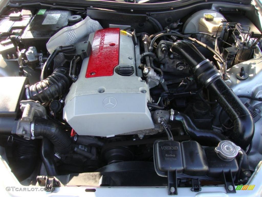 1998 mercedes benz slk 230 kompressor roadster 2 3l for Mercedes benz c230 engine