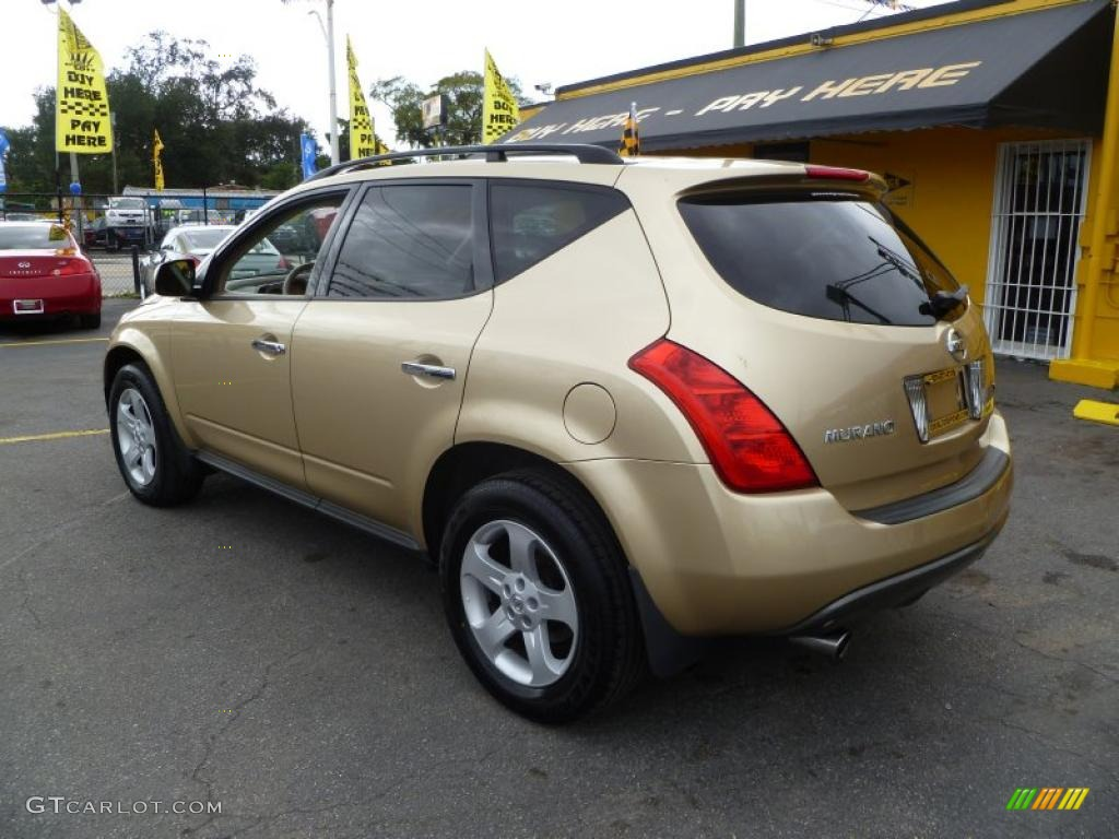 Luminous Gold Metallic 2003 Nissan Murano Sl Exterior