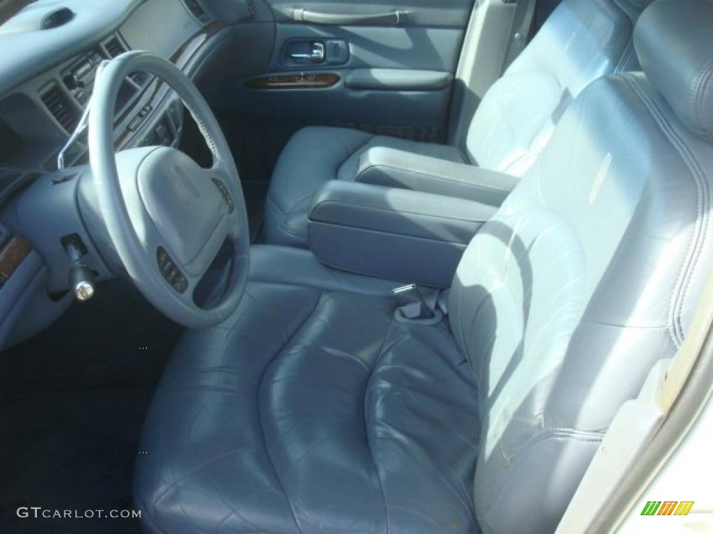 slate blue interior 1997 lincoln town car signature photo 41733310. Black Bedroom Furniture Sets. Home Design Ideas