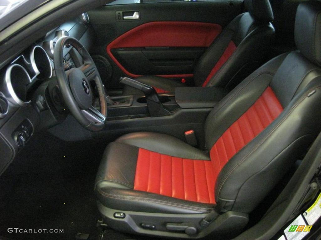 2007 mustang gt500 interior 2007 ford mustang shelby gt500 - Black Red Interior 2007 Ford Mustang Shelby Gt500 Coupe Photo 41734638