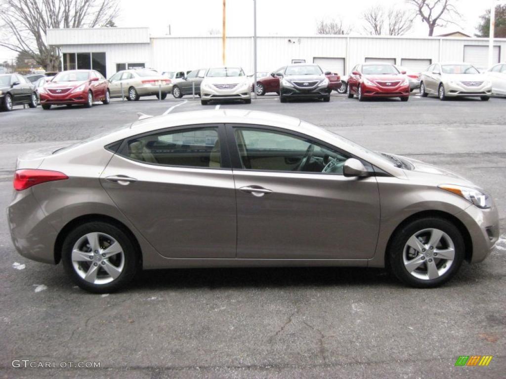 Desert Bronze 2011 Hyundai Elantra Gls Exterior Photo 41740822 Gtcarlot Com