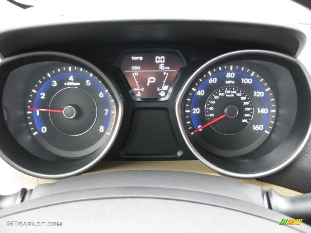 2011 Hyundai Elantra Gls Gauges Photo 41741134 Gtcarlot Com