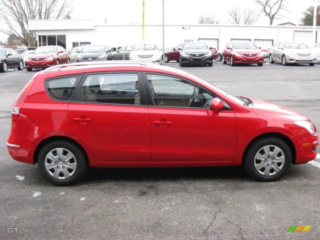 Chilipepper Red 2011 Hyundai Elantra Touring Gls Exterior