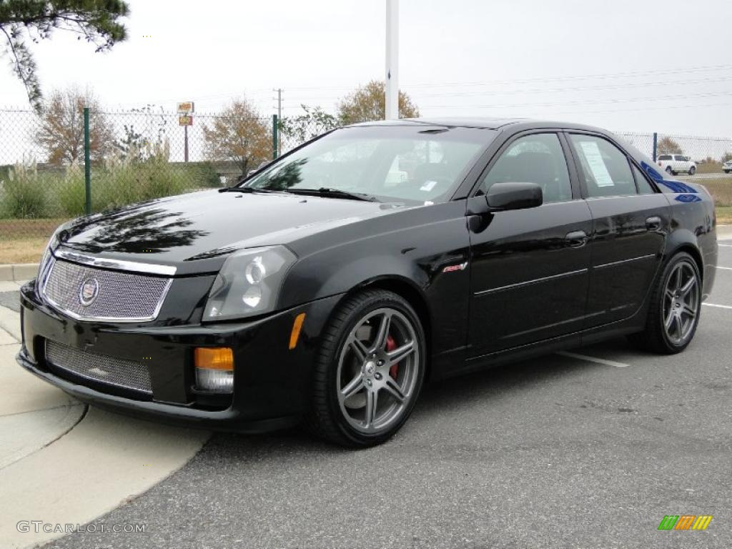 black raven 2004 cadillac cts mallett cts v exterior photo. Black Bedroom Furniture Sets. Home Design Ideas