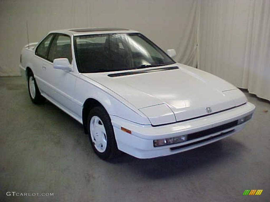 Frost White 1991 Honda Prelude Si Exterior Photo #41772393 ...
