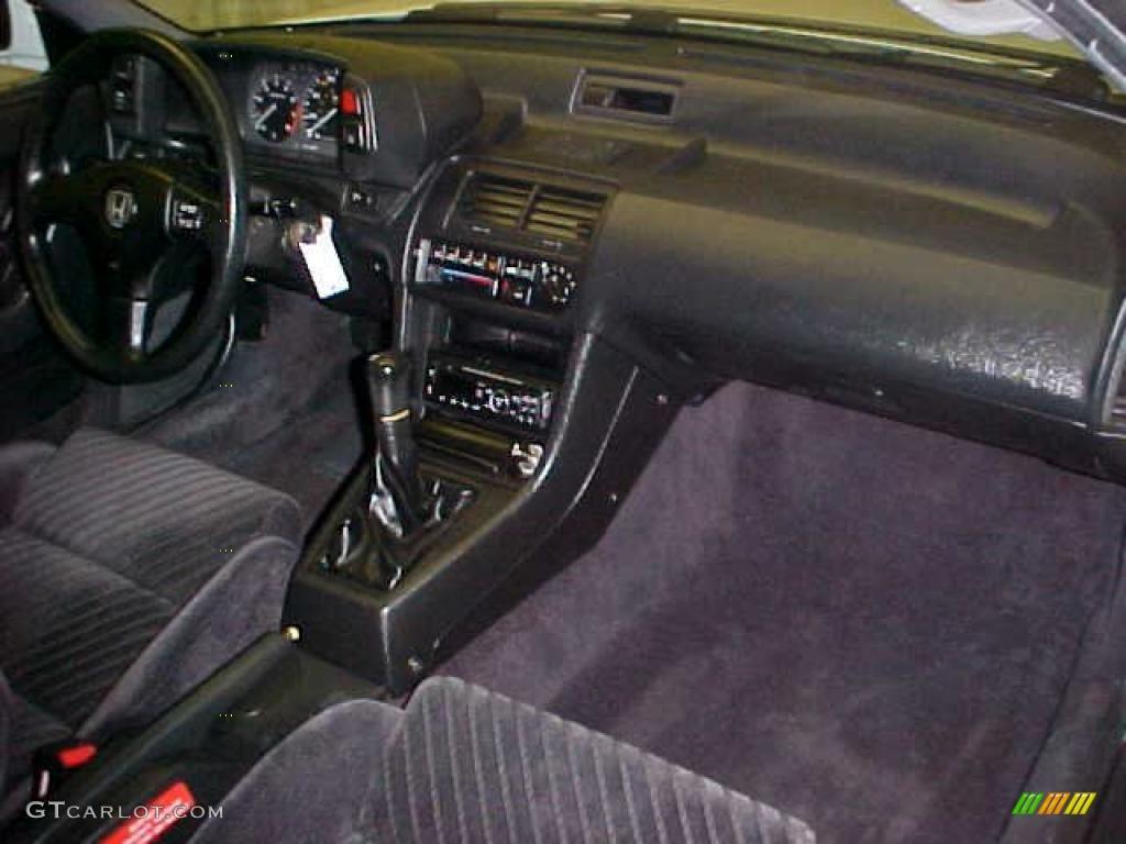 1991 Honda Prelude Si Interior Color Photos