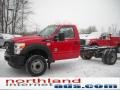 Vermillion Red 2011 Ford F550 Super Duty Gallery