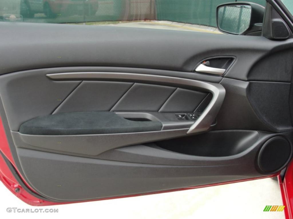 2008 Honda Accord Lx S Coupe Black Door Panel Photo 41777133 Gtcarlot Com