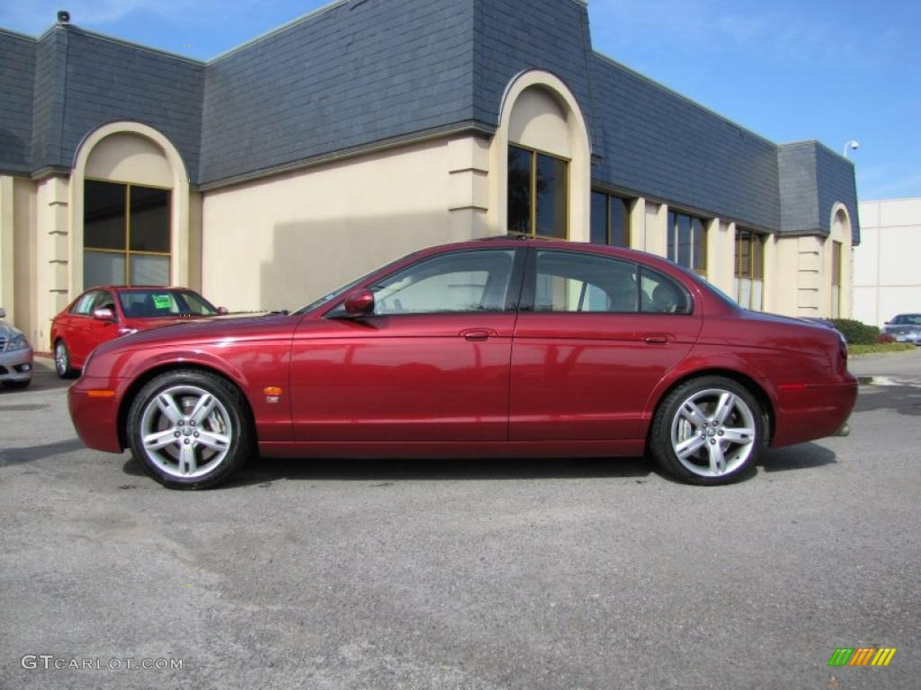 2005 radiance red metallic jaguar s type r 41791362 photo jaguar s type r red