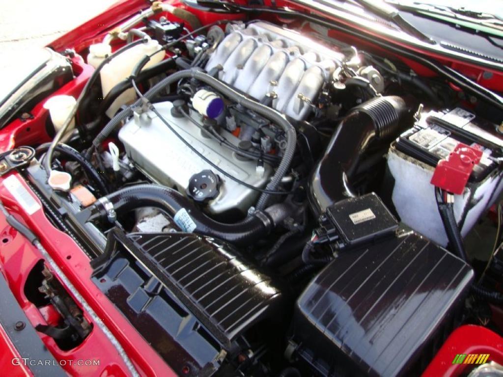 2003 Mitsubishi Eclipse Spyder GT 3.0 Liter SOHC 24-Valve V6 Engine Photo #41811309 | GTCarLot.com