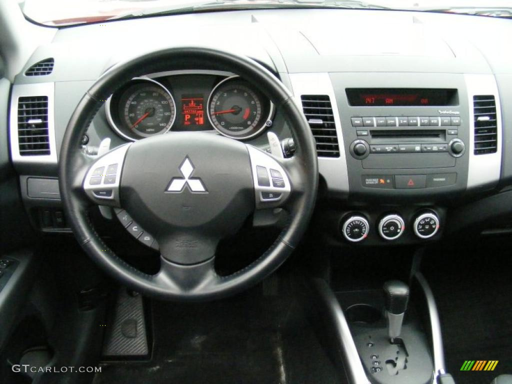 2007 mitsubishi outlander xls black dashboard photo. Black Bedroom Furniture Sets. Home Design Ideas